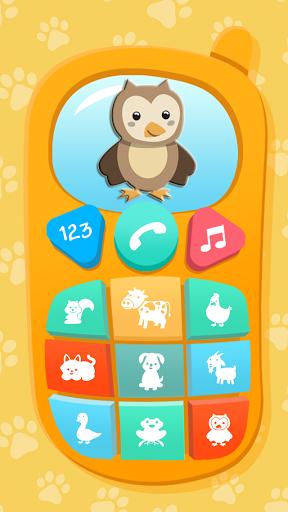 بازی اندروید تلفن کودک - Baby Phone. Kids Game