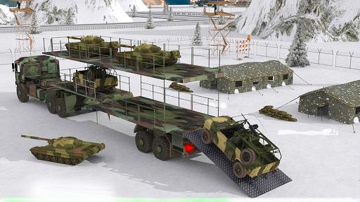 بازی اندروید محموله کامیون ارتش - Army Cargo Truck - Army Truck Driving Simulator 3D