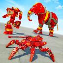 بازی بازی اتومبیل ربات تانک عنکبوتی - بازی ربات فیل