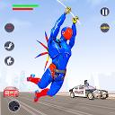 بازی عنکبوتی ربات قهرمان پرواز - شهر جنایت وگاس