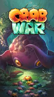 بازی اندروید جنگ خرچنگ ها - Crab War