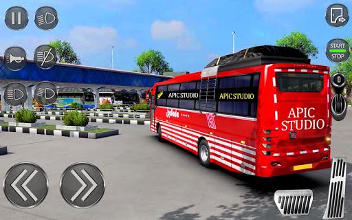 بازی اندروید راننده اتوبوس شهری - بازی های اتوبوس 2020 - City Coach Bus Driving Sim : Bus Games 2020
