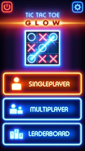 بازی اندروید درخشش تیک تاک - Tic Tac Toe Glow