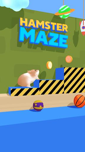 بازی اندروید پیچ و خم همستر - Hamster Maze