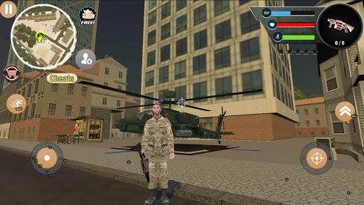 بازی اندروید شبیه ساز ارتش - Special Ops Impossible Army Mafia Crime Simulator