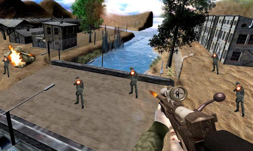بازی اندروید تیرانداز ارتش مرزی - Border Army Sniper