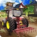 راننده تراکتور مزرعه