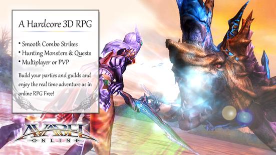 بازی اندروید نقش آفرینی آنلاین - Online RPG AVABEL [Action]