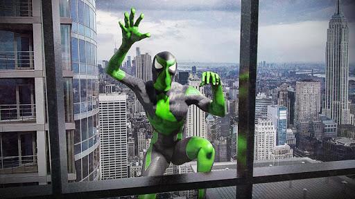 بازی اندروید قهرمان عنکبوتی عجیب وگاس - Rope Frog Ninja Hero - Strange Gangster Vegas