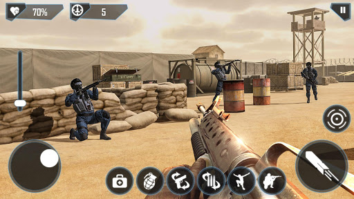 بازی اندروید خط مقدم - مأموریت مدرن مبارزه - Frontline : Modern Combat Mission