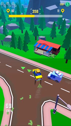 بازی اندروید راندن تاکسی - راننده دیوانه - Taxi Run - Crazy Driver