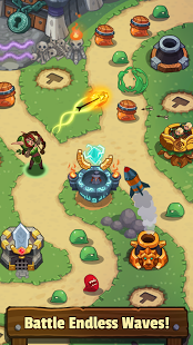 بازی اندروید افسانه دفاع از قلعه - Tower Defense: Legends TD