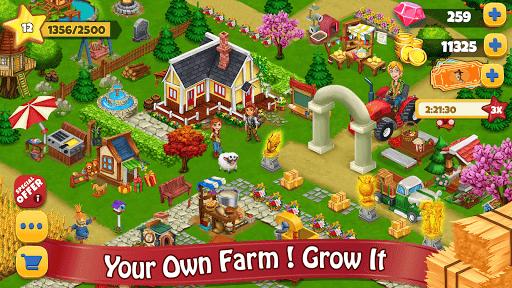 بازی اندروید مزرعه روستایی - بازی آفلاین - Farm Day Village Farming: Offline Games