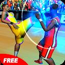 مبارزه بازیکنان بسکتبال