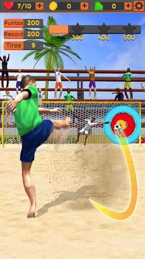 بازی اندروید شوت فوتبال ساحلی - Shoot Goal Beach Soccer
