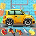 بازی گاراژ سرویس اتومبیل کودکان