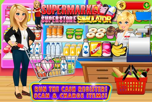 بازی اندروید سوپر مارکت - Supermarket Grocery Superstore