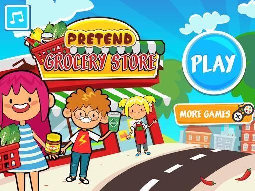 بازی اندروید فروشگاه مواد غذایی من - سوپر مارکت یادگیری - My Pretend Grocery Store - Supermarket Learning