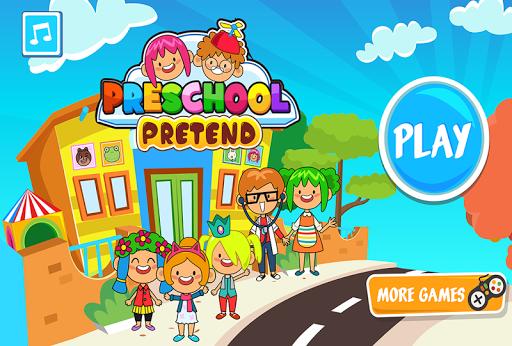 بازی اندروید کودکستان آموزش کودکان و نوجوانان - Pretend Preschool - Kids School Learning Games