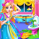 پاکسازی خانه قلعه پرنسس - نظافت برای دختران