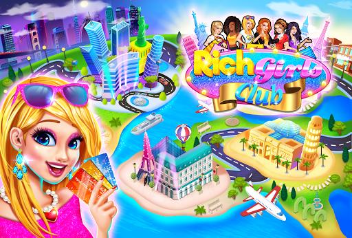 نرم افزار اندروید خرید دختران ثروتمند - بازی های ثبت نام نقدی - Rich Girls Shopping 🛍  - Cash Register Games