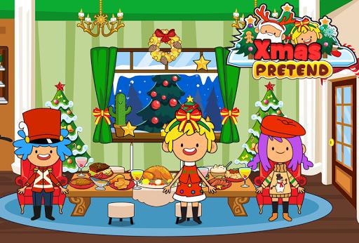 بازی اندروید کریسمس من - تعطیلات بچه ها - My Pretend Christmas - Kids Holiday Party FREE