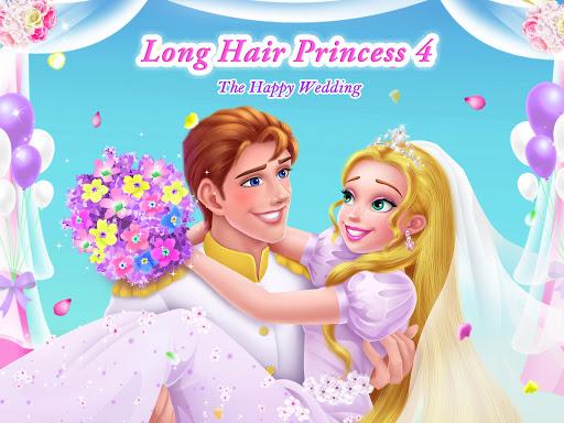 بازی اندروید  شاهزاده موی بلند 4 - عروسی مبارک - Long Hair Princess 4 - Happy Wedding