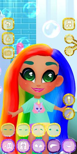 بازی اندروید عروسک های ناز - Adorable Hair Dolls