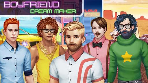 بازی اندروید مدل پسران - Dream Boy friend Maker