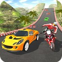 مسابقه اتومبیل موتور سیکلت