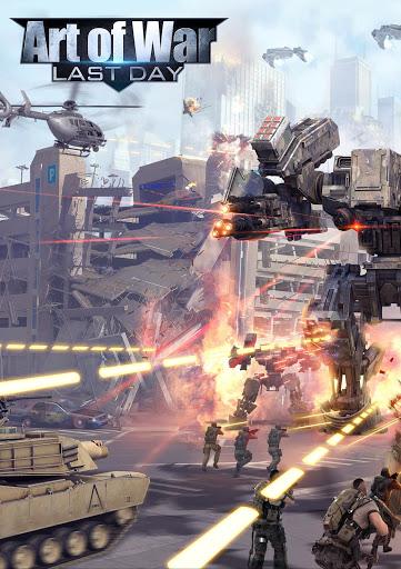 بازی اندروید هنر جنگ - آخرین روز - Art of War : Last Day