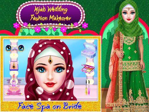 نرم افزار اندروید سالن عروسی و پیراستن دخترانه با حجاب کشمیری - Kashmiri-Indian Hijab Girl Wedding & Dressup Salon