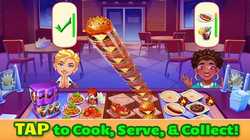 بازی اندروید سرآشپز سریع رستوران  - Cooking Craze - A Fast & Fun Restaurant Chef Game