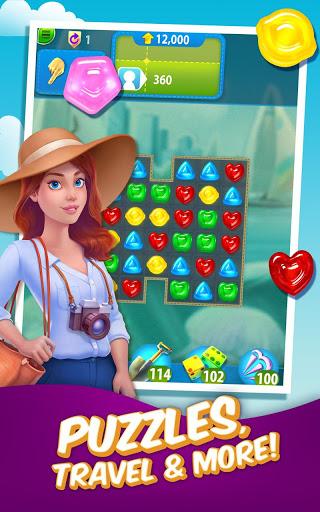بازی اندروید آب نبات - Gummy Drop! – Free Match 3 Puzzle Game