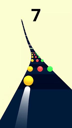 بازی اندروید جاده رنگی - Color Road