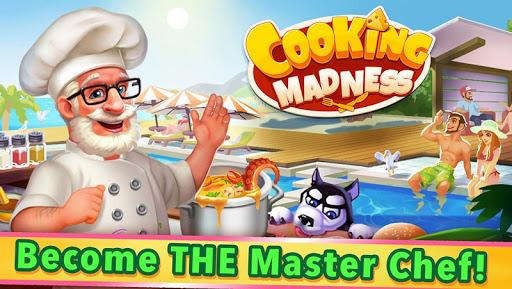 بازی اندروید جنون آشپزی - Cooking Madness - A Chef's Restaurant Games