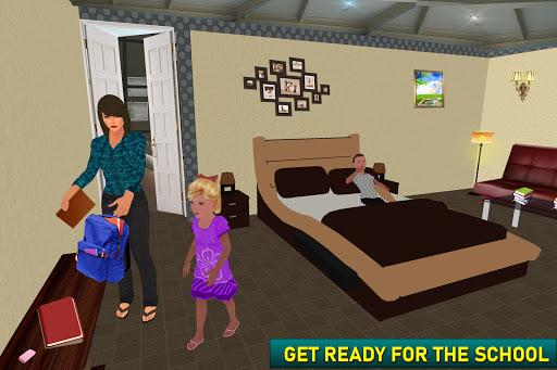 بازی اندروید شبیه ساز مجازی مادر تنها - زندگی مادر خانواده - Virtual Single Mom Simulator: Family Mother Life