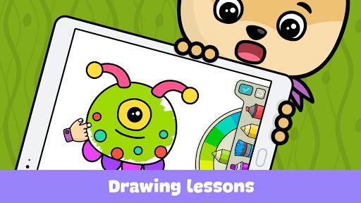 بازی اندروید کتاب رنگ آمیزی کودکان - Coloring book for kids