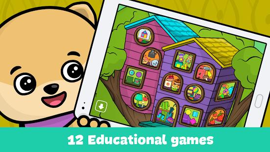 بازی اندروید اشکال و رنگ ها برای کودکان - Shapes and Colors for babies
