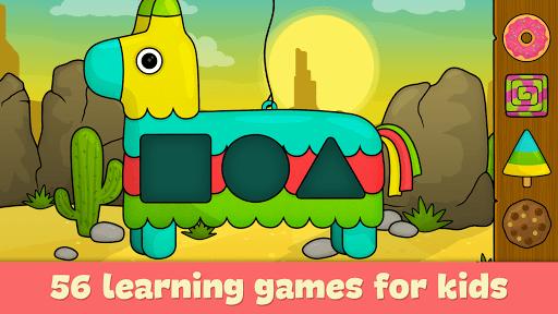 بازی اندروید بازی های آموزشی برای کودکان - Learning games for toddlers age 3