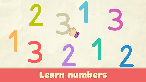 بازی اندروید یادگیری اعداد برای بچه ها - Learning numbers for kids