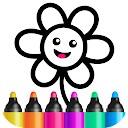 برنامه های طراحی کودک بنی - بازی های رنگ آمیزی کودکان