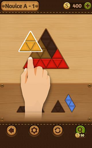 بازی اندروید مجموعه چوبی بلوک - Block Puzzle Games: Wood Collection