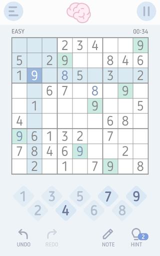 بازی اندروید سودوکو ذهن - Brain Sudoku: Puzzle