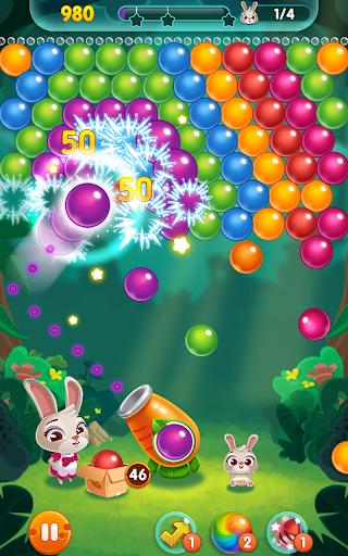 بازی اندروید ترکیدن پاپ - Bunny Pop