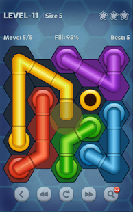 بازی اندروید خط لوله - هگزا - Pipe Lines : Hexa
