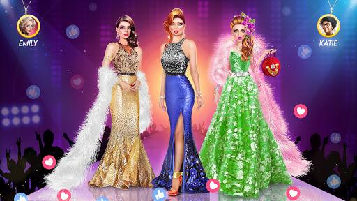 بازی اندروید بازی های مد - بازی های پیراستن سبک دخترانه - Fashion Games - Dress up Games, Stylist Girl Games
