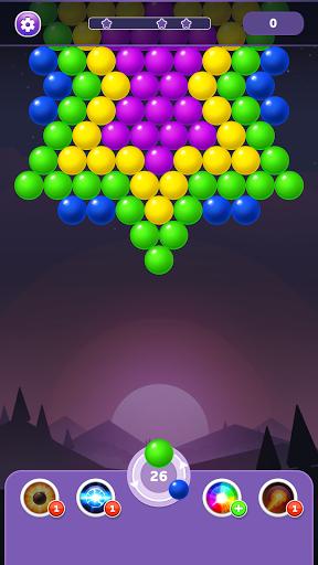 بازی اندروید تیرانداز رنگین کمان حباب - پازل ترکیدن - Bubble Shooter Rainbow - Shoot & Pop Puzzle