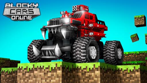 بازی اندروید قالب ماشین ها- بازی تیراندازی ، جنگ روبات - Blocky Cars - Shooting games, robo wars