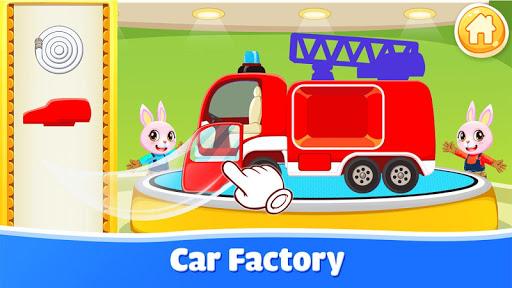 بازی اندروید اتومبیل برای بچه ها - صداهای اتومبیل - کارخانه اتومبیل سازی - Cars for kids - Car sounds - Car builder & factory